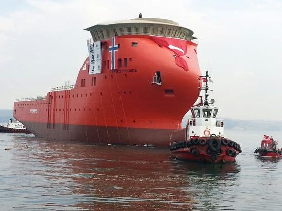NUOVO: nave-appoggio in mare aperto da Cemre Shipyard