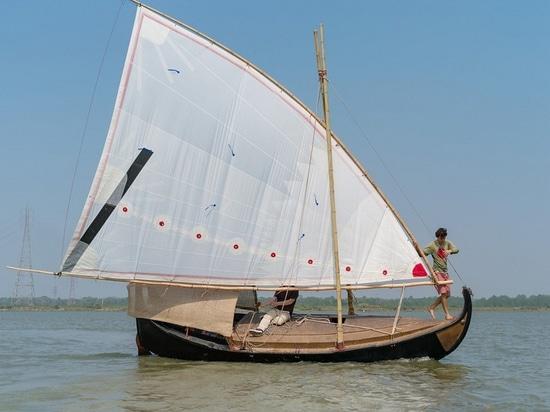 Il guscio della seconda barca, oro del Bengala, è iuta 100% (cortesia di oro del Bengala)