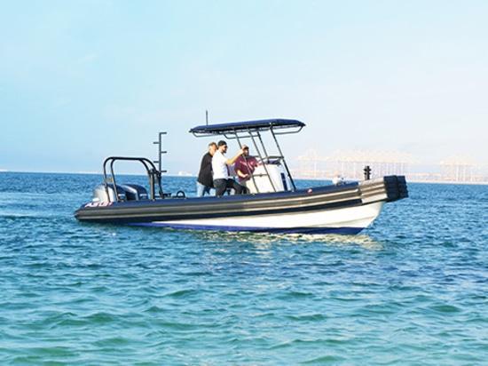 Presentazione della barca gonfiabile rigida della schiuma della prua piana di spinta (COSTOLA) da ASIS