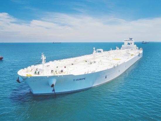 Euronav già ha posseduto l'altro ULCC nella flotta globale dell'autocisterna, il TI Europa (2002 – 442.470 dwt).