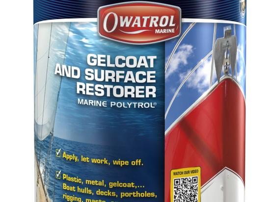 I nuovi prodotti di Owatrol complementano il suo restauratore di colore di Marine Polytrol