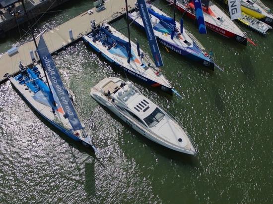 Volvo Penta rivela la tecnologia dell'yacht di auto-aggancio