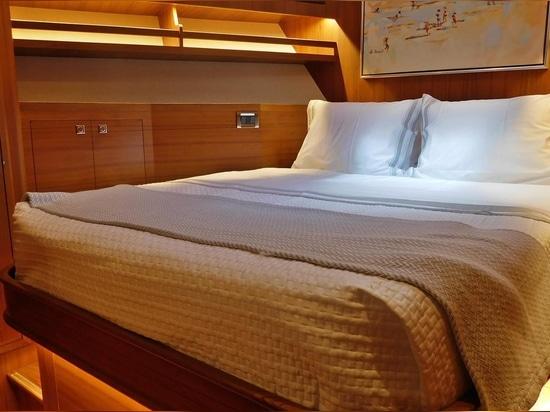 La scogliera esterna consegna 860 mari di Ruff dell'yacht di Deluxebridge