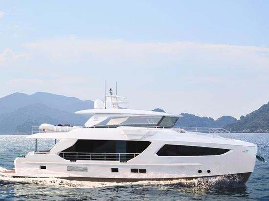 Gli yacht di orizzonte rivela il modello FD77