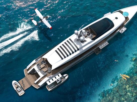 ThirtyC presenta il nuovo concetto del superyacht di 53m
