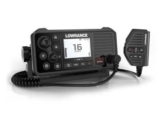Lowrance rivela Link-9 ha riparato la radio VHF del supporto