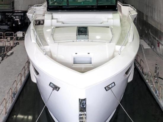 Il modello degli yacht FD77 di orizzonte è in via di realizzazione