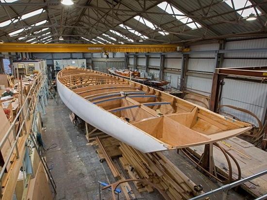 Aggiornamento della costruzione sull'yacht di navigazione della nave ammiraglia di spirito 111