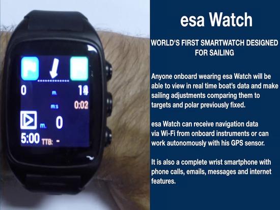 orologio di SEC: il primo smartwatch del mondo progettato per navigare