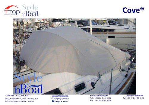 Il Cove® equipaggiato sulle barche a vela Beneteau
