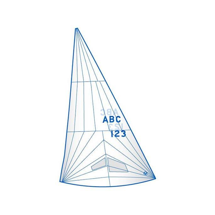 Genoa / per imbarcazione a chiglia da regata monotipo / J24