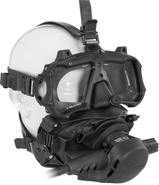 maschera granfacciale usata