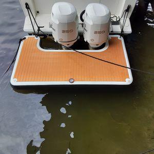 piattaforma per barca / per battello di servizio / gonfiabile