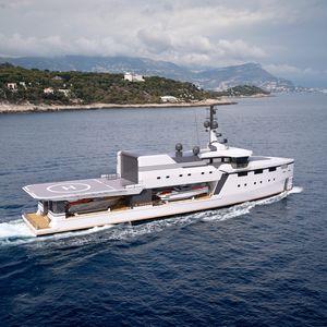 nave speciale di sostegno per yacht