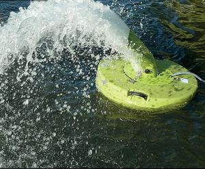 aeratore d'acqua per piscicoltura