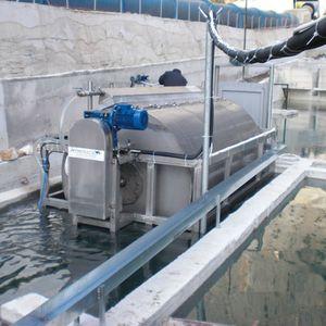 filtro a tamburo / per acquacoltura