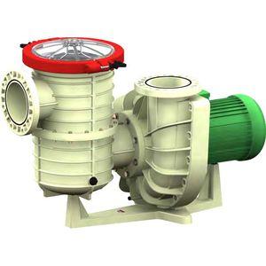 pompa per acquacoltura / di trasferimento / ad acqua