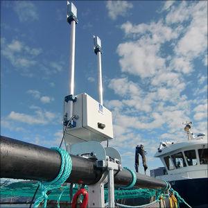 sistema di sorveglianza per acquacoltura / wireless