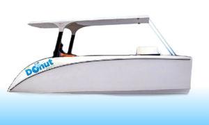 lancia catamarano / entrobordo / elettrica / open