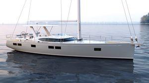 sailing-yacht da crociera / tradizionale / con poppa aperta / con 3 o 4 cabine