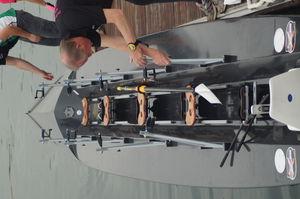 barca da canottaggio da regata