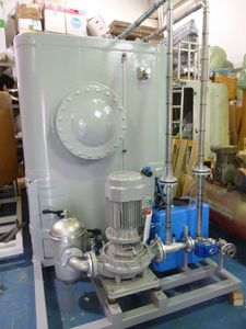caldaia per nave a gas di scarico