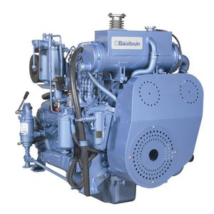 motore entrobordo / diesel / per barca professionale / turbo