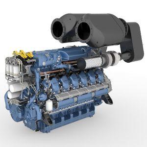 motore entrobordo / diesel / per barca professionale / ad iniezione diretta