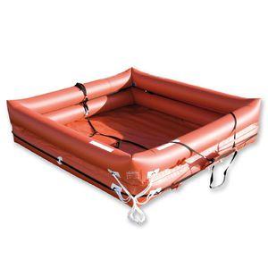zattera di salvataggio per barca