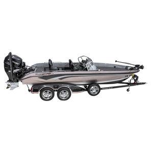 bass boat fuoribordo / con dual console / da pesca sportiva / max. 7 persone