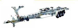 rimorchio per movimentazione / per cantiere navale / idraulico / a rulli