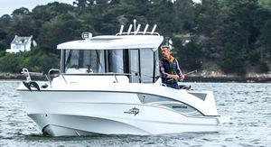 barca da pesca e diporto fuoribordo