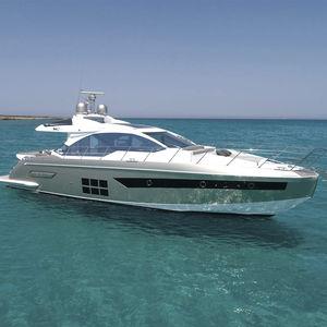 motor-yacht da crociera / hard-top / IPS / in fibra di carbonio