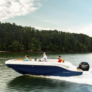 deck boat fuoribordo / da pesca sportiva / da wakeboard / da sci nautico