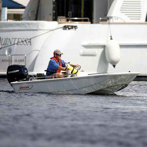 barca open fuoribordo / con console centrale / da pesca sportiva / sportiva