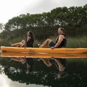 kayak sit-on-top / rigido / da pesca / a due posti