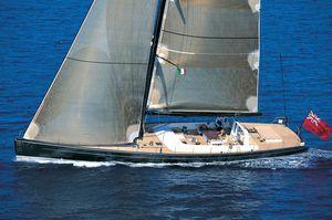 sailing-superyacht di lusso da regata e crociera