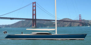 sailing-superyacht di lusso da crociera / ketch / sloop