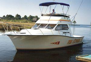 cabinato entrobordo / bimotore / con fly / da pesca sportiva