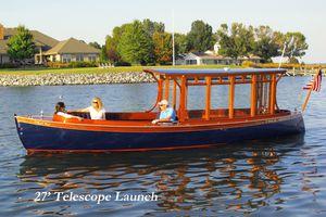 cabin-cruiser elettrico / open / in legno / tradizionale