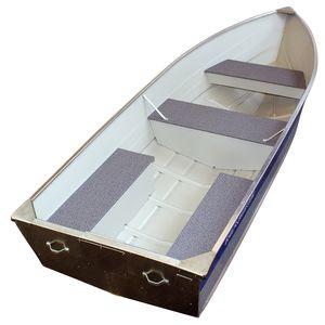 bay boat fuoribordo / da pesca sportiva / in alluminio / max. 6 persone