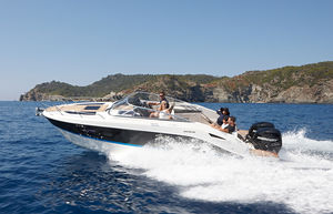 cabin-cruiser fuoribordo / bimotore / open / max. 9 persone