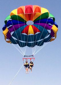 paracadute ascensionale su misura