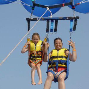 barra per paracadute ascensionale doppia