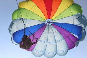 paracadute ascensionale 1-2 passeggeri
