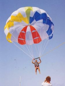 paracadute ascensionale su misura / 1-2 passeggeri