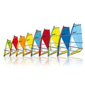 vela da windsurf per principianti / 4 listelli / 1 listello / 2 listelli