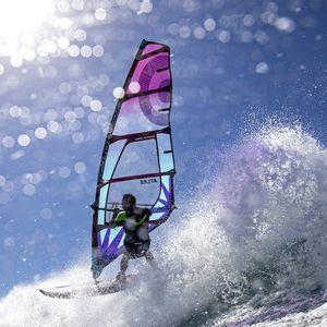 vela da windsurf wave / 5 listelli