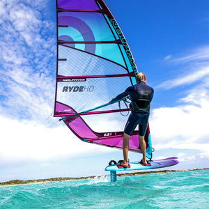 vela da windsurf da freeride / 6 listelli
