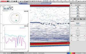 ecoscandaglio per studi idrografici